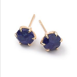 Ippolita lapis 18k stud earrings